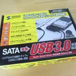 MacBookの外付けHDDには USB-CVIDE3 が使えました。ところでサンダーボルトってどうなのか。